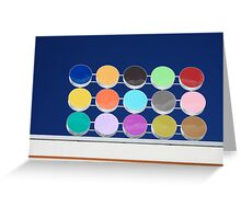 colored dots Greeting Card