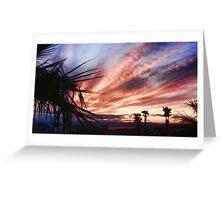Another Havasu Sunset Greeting Card