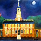 Independence Hall  by Marita McVeigh