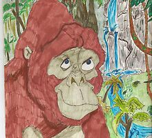 mother gorilla from tarzan movie by michaelduncan