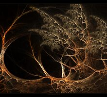 """Forest's Edge"" - Fractal Art by Leah McNeir"