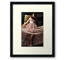 Hollywood Honeymoon™ Ina Claire* © shhevaun.com Framed Print