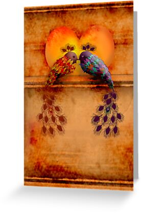 Love Birds by Karin  Taylor