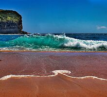 Mona Vale King Tide by Ian English
