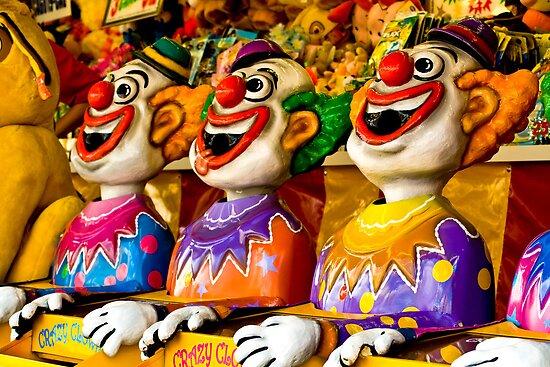 Crazy Clowns by kwill