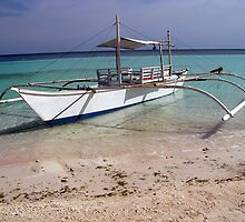 Baroto-Philippine wooden boat by Ferdinand Lucino