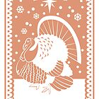 Bronze Turkey by Alice in Underland