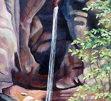 Hidden Waterfall by Becky Kulka