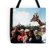 Giraffe and group Tote Bag