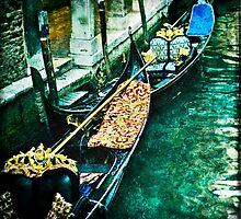 Venetian waterway by James Rowland