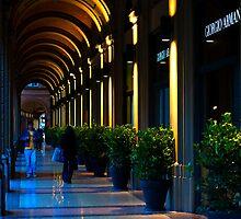 Portico, Bologna, Italy by Andrew Jones