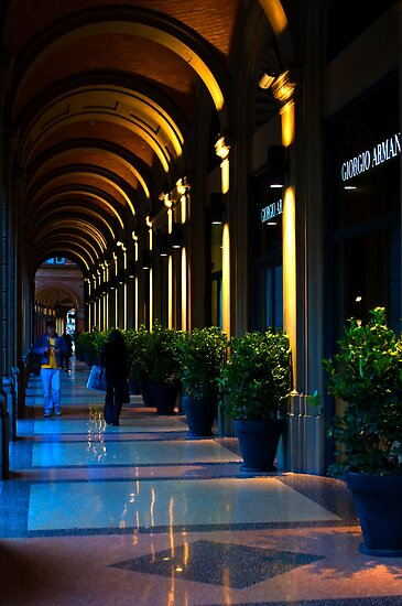 Portico, Bologna, Italy by Andrew Jones