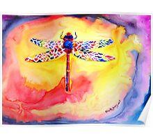 Dragonfly Debra....... Poster