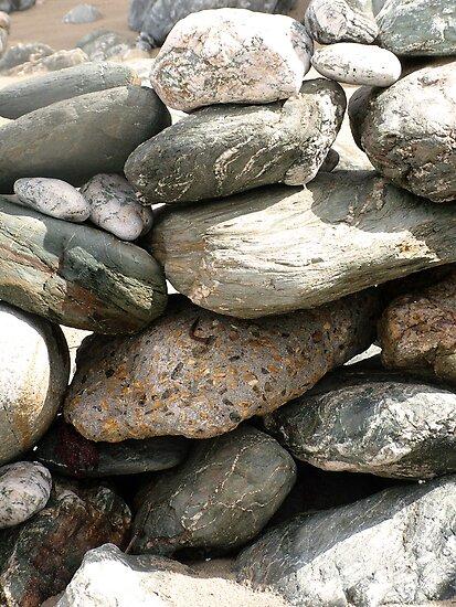 Stones, Cornwall, UK by Alex Bonner