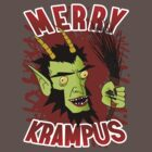 Merry Krampus! by Frank Pena