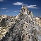 Climber on Matthes Crest by Eileen Ringwald