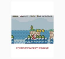 """Mario- """"Fortune favors the brave"""" by rockclimber1123"""