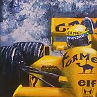 Ayrton Senna by Matthew Rogers