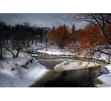 A River Runs Through It - HDR  Photographic Print