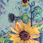 Sunflowers by arline wagner