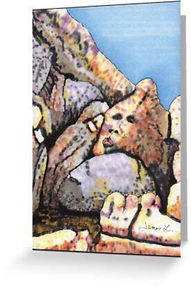 A Boulder Face by James Lewis Hamilton