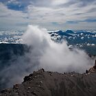 Mt Kerinci summit, Sumatra Indonesia by Naomi Brooks