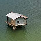 Fishing shack, Takengon, Aceh, Indonesia by Naomi Brooks