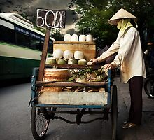 The Coconut Vendor #0101 by Michiel de Lange