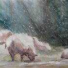 First Storm of the Season by Lora Garcelon