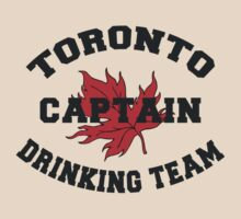 "Toronto Canada ""Drinking Team Captain"" by HolidayT-Shirts"