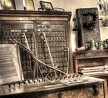 Antique Switchboard by Terence Russell