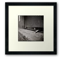 closed store Framed Print