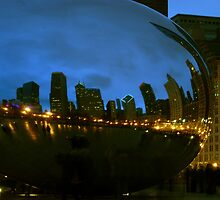 Cloudgate, Up Close & Personal by Victoria Jostes