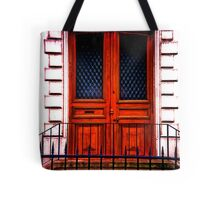 Paris Doorway Tote Bag