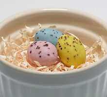 Easter eggs by Simon Perkin