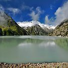 Beautiful mountain lake by Mario Curcio