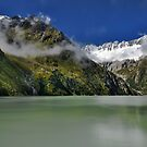 Alpine lake by Mario Curcio