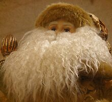 Textured Santa by angelandspot