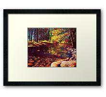 Summer Yosemite River Framed Print