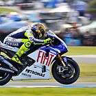 Valentino Rossi by Kate Caston