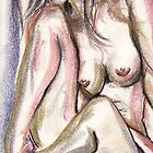 Nude in Pastel No. 21 by David Hinkle Southard