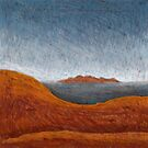 The Olgas from Uluru by Julian Newman
