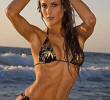 Beach Girl 2 by Nigel Donald