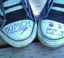 Domo Converse Shoes- Mary S. Young Park by KC-Dimples