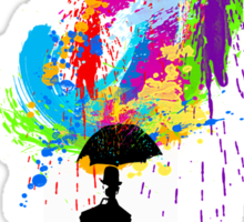 RainMan Sticker