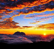Sunrise at 10,000ft - On the Summit of Haleakala .... by M-Pics
