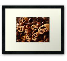 Cinnamon and Coffee Framed Print