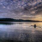 Insignificance - Narrabeen Lakes, Sydney - The HDR Experience by Philip Johnson