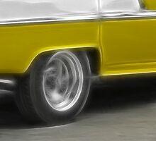 Taxi Cuba 3 by Jean-François Dupuis