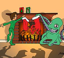 X-mas With Tentacles! by Michael Lee